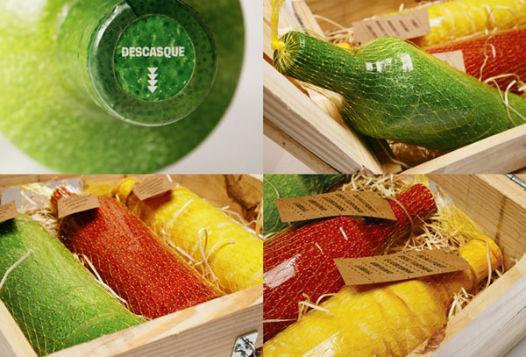 Packaging des bouteilles de Smirnoff