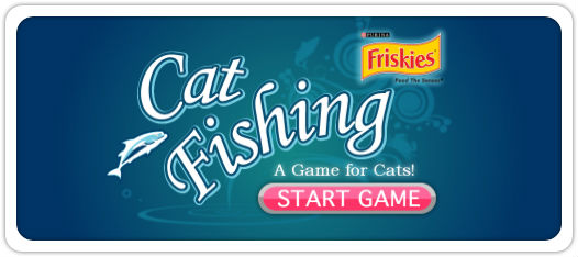 Friskies lance des jeux ipad pour chats happy days for Friskies cat fishing