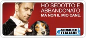 Campagne Rocco Siffredi contre l'abandon