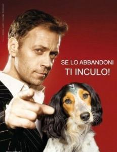 Parodie campagne Rocco Siffredi pour la SPA Italienne
