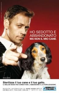 Campagne Rocco Siffredi contre l'abandon d'animaux