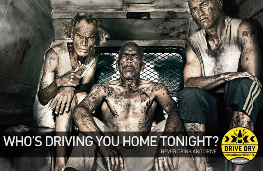 gangster image campagne Drive Dry