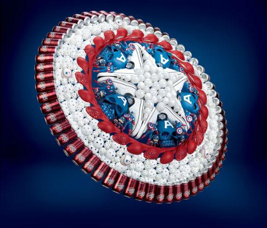 Bouclier de Captain America - The Avengers