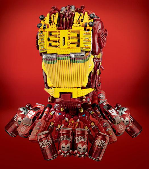 Casque Iron Man - The Avengers