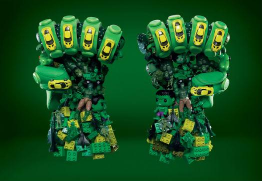 Poings Hulk - The Avengers