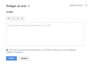 rédiger un avis sur Google + Local