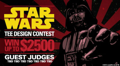 concours design tee-shirt star wars