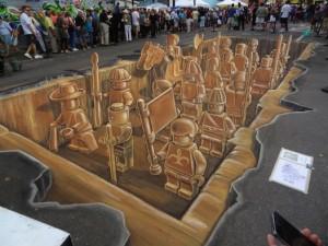 Armée LEGO en 3D final