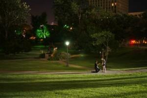 Joel Bush et jenifer > demande en mariage au parc du capitole