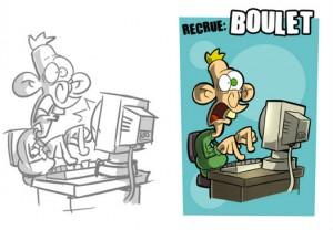 le boulet, hacking party, jeu de société