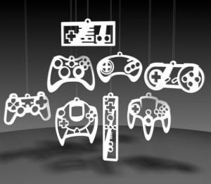 décoration jeux vidéos