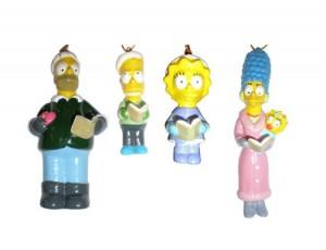 Décoration de Noêl Simpsons