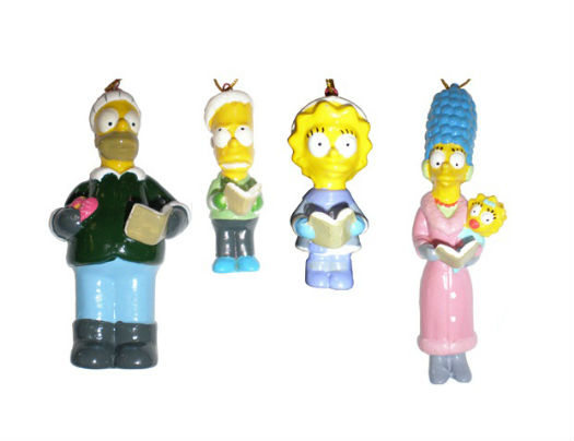 Décoration de Noêl Simpsons