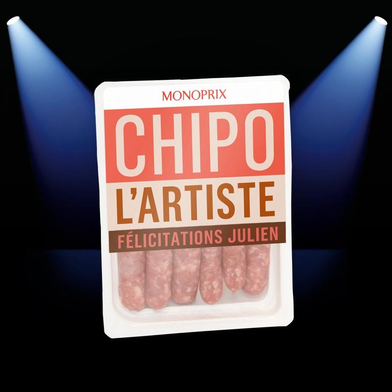 Julien Monoprix félicitation