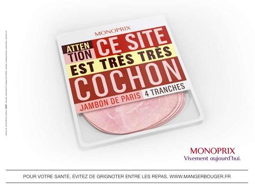 Jambon cochon monoprix