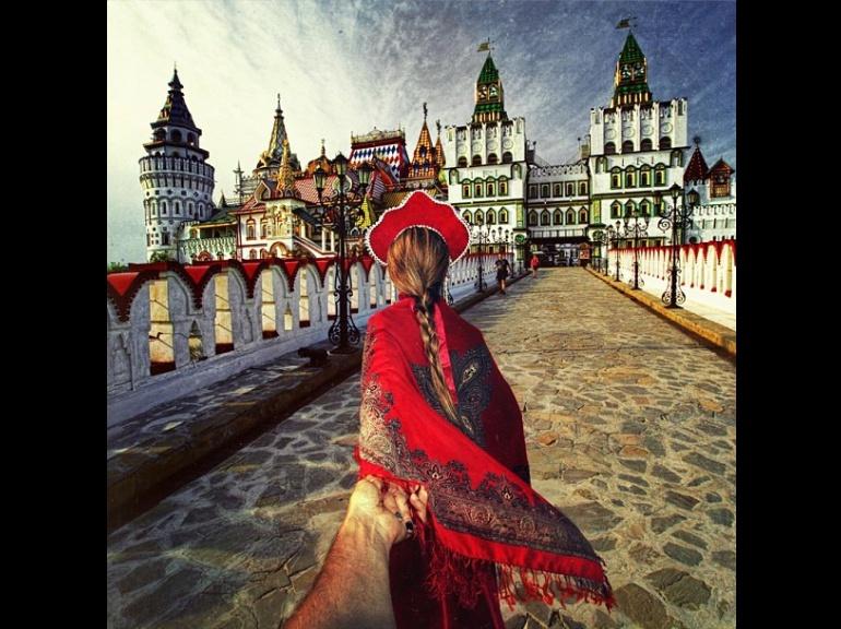 """""""Suis-moi... à Moscou"""" Murad Osmann"""