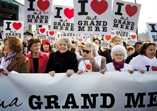La mamif I love ma grand-mère à Paris