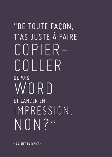 Copier Coller Word