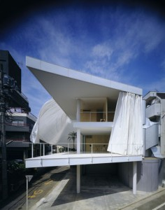 Curtain Wall House - Tokyo, 1995 - _ Crédits : Hiroyuki Hirai