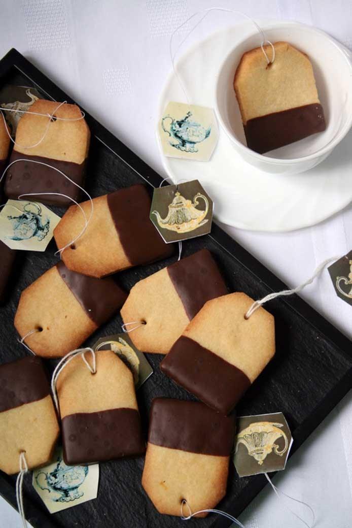 Biscuits - Sachet de thé