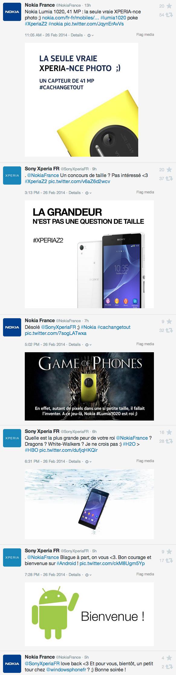 Nokia / Sony