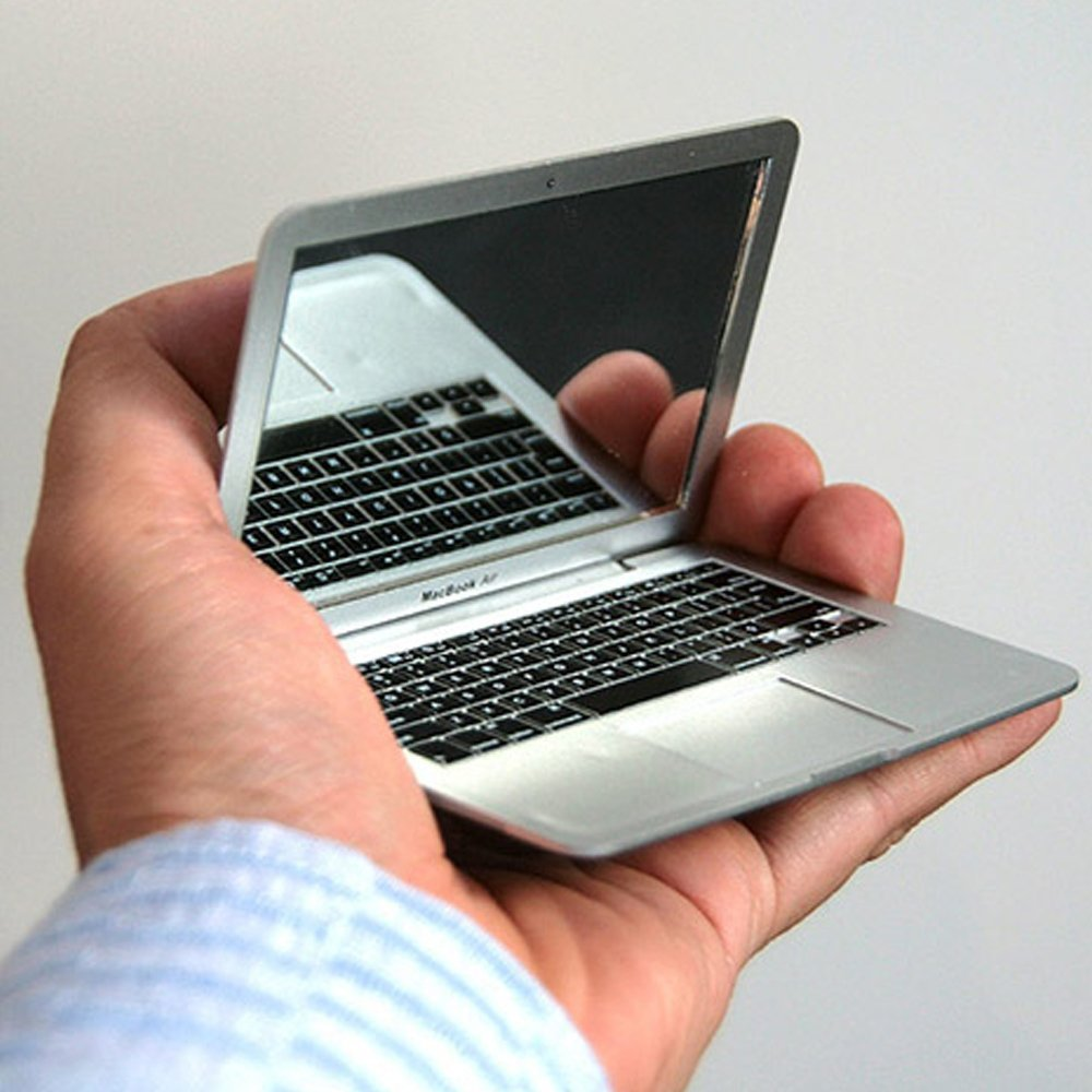 Miroir de poche Macbook