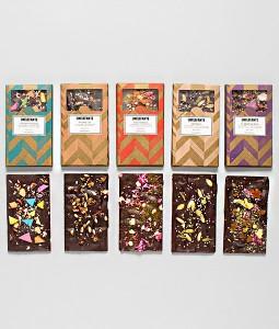 Set de 5 tablettes chocolat