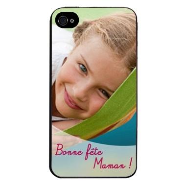 Coque téléphone personnalisable avec photo - Fête des mères