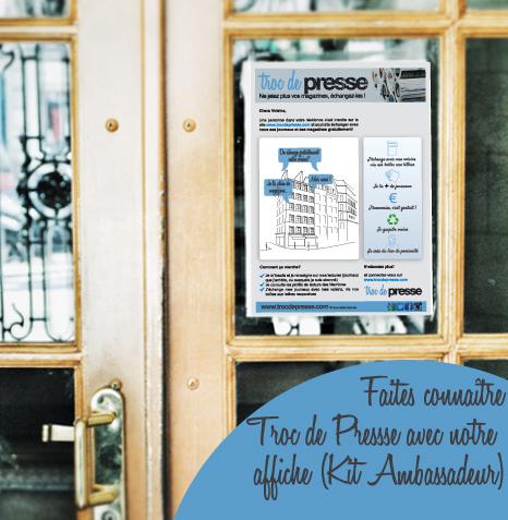 Kit Ambassadeur Troc de Presse