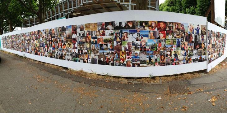 Mur pour la vie, une action du Rotaract de Thionville pour le don d'organes