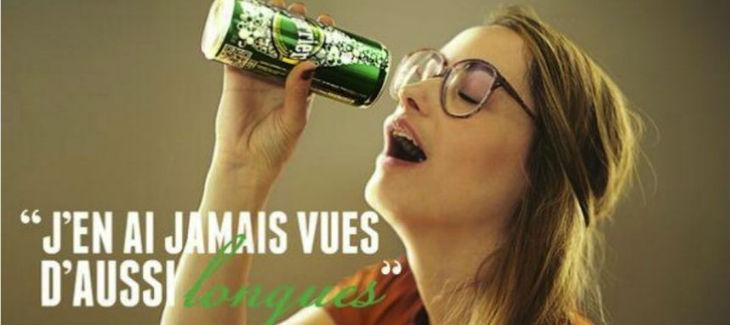Publicité Perrier, une nouvelle source de plaisir - bad buzz