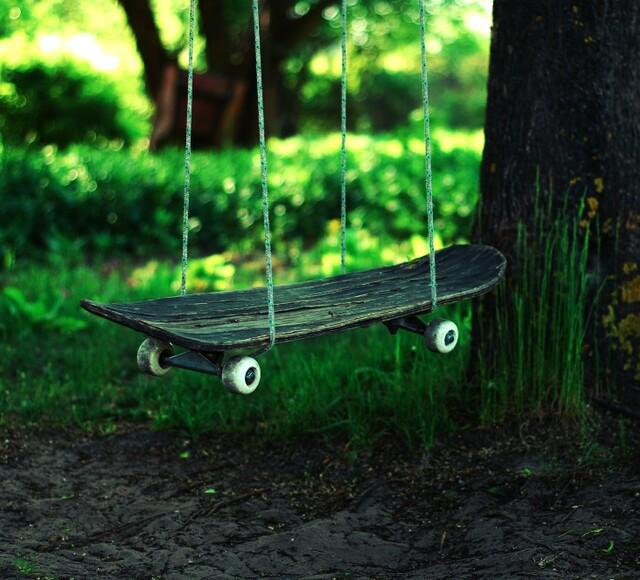 Balancoire skate