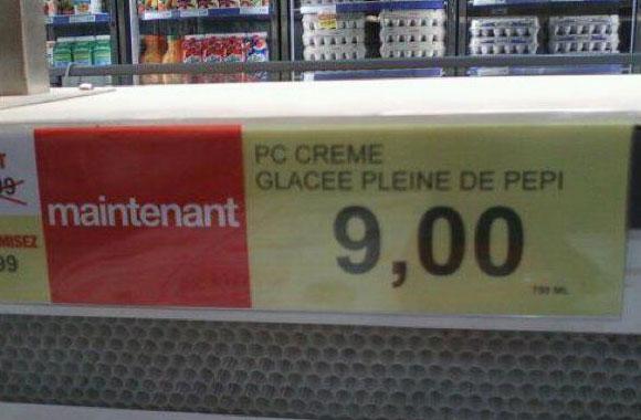 creme glacée
