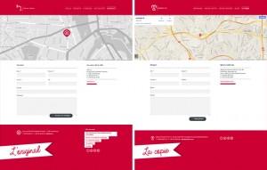 Majole Art'in kopya çekti sitesi : h2a'nin kontakt sayfasi