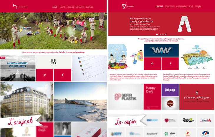 Copie du site h2a par Majole Art : La page d'accueil