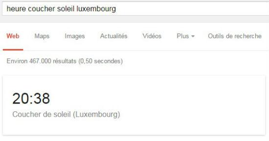 heure coucher soleil luxembourg   Recherche Google