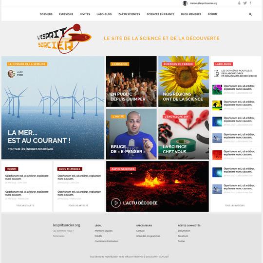 Esprit Sorcier, futur site