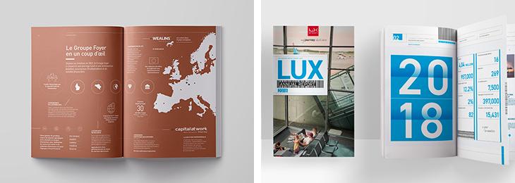 Rapports annuels de Foyer et de Luxaiport