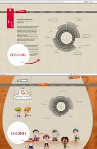 Reprise de la roue h2a sur le site interpretation-prenom.com