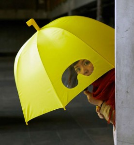 Parapluie lunettes