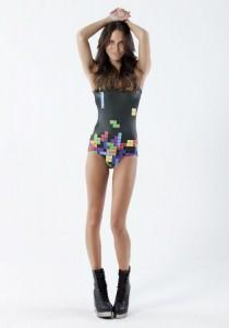 maillot de bain tetris