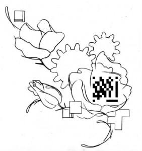 KARL tatouage flashcode