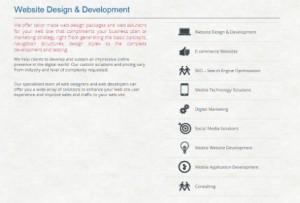 """Plagit de la page """"Agence"""" du site h2a par Technople Solutions"""