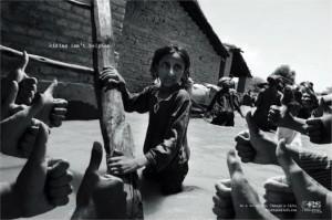 Campagne humanitaire sur l'inutilité du like