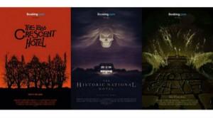 Publicités Booking, hôtels de films d'horreur