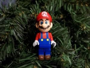 décoration noël Mario