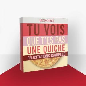 isabelle felicitation monoprix