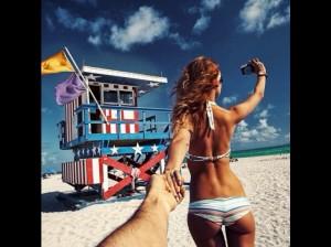 Suis moi à la plage