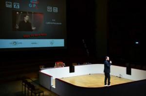 Gabriel Boisante, présentateur de la soirée GIPL vs Herocorp