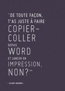 Copier Coller Word